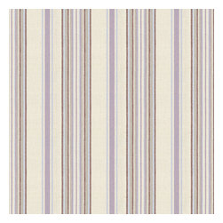 Lavendar & Blue Stripe Linen Fabric - Breezy linen stripe of purple, gray & ivory feels soft, serene and sophisticated.Recover your chair. Upholster a wall. Create a framed piece of art. Sew your own home accent. Whatever your decorating project, Loom's gorgeous, designer fabrics by the yard are up to the challenge!