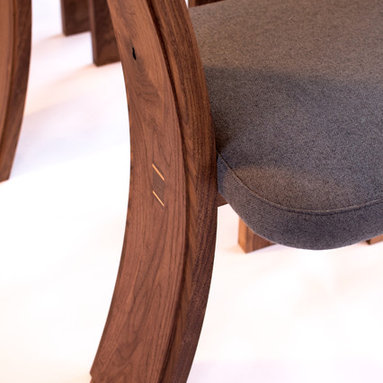 Walnut Dining Chair -