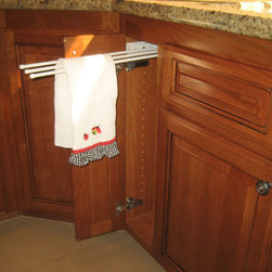 Cabinet accessories - towel pullout -