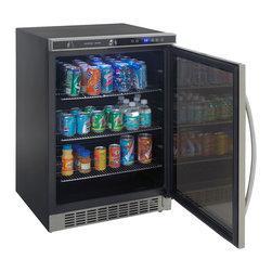 Avanti - 5.3 Cu.Ft. Built-in Refrigerator/Beverage Center - -5.3 cu.ft. Capacity