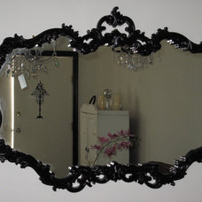 "Eclectic Mirrors Vintage mirror given the ""Marabelle Make-Over"""