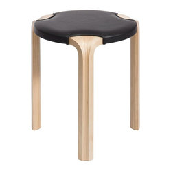 Artek Leather Stool X600