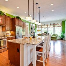 Farmhouse Kitchen by Architectural Designs