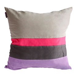 Blancho Bedding - Adonis Knitted Fabric Patch Work Pillow Floor Cushion  19.7 by 19.7 inches - Aesthetics and Functionality Combined. Hug and wrap your arms around this stylish decorative pillow measuring 19.7 by 19.7 inches, offering a sense of warmth and comfort to home buddies and outdoors people alike. Find a friend in its team of skilled and creative designers as they seek to use materials only of the highest quality. This art pillow by Onitiva features contemporary design, modern elegance and fine construction. The pillow is made to have invisible zippers, knitted fabric shells and fill-down alternative. The rich look and feel, extraordinary textures and vivid colors of this comfy pillow transforms an ordinary, dull room into an exciting and luxurious place for rest and recreation. Suitable for your living room, bedroom, office and patio. It will surely add a touch of life, variety and magic to any rooms in your home. The pillow has a hidden side zipper to remove the center fill for easy washing of the cover if needed.