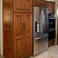 Traditional Kitchen Cabinetry by Let's Face It