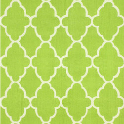 Nuloom - nuLOOM Handmade Wool Moroccan Trellis Green Rug (7'6 x 9'6) - Invoke the feel and warmth of a country home with this stunning woolen trellis hand-hooked rug. Meticulously made using a petit point stitches construction,make your favorite space feel right at home.