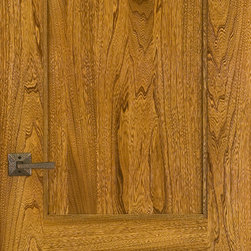 Homestead Doors, Inc - Elm 3-Panel Solid Wood Door - This modern 3-panel Elm door has a vibrant exotic grain pattern. The beautiful colors of the wood are brought out to their full brilliance with our high quality clear finish coat. This door is made from solid wood with the finest quality craftsmanship you can find. Please contact us to provide a list of doors you would like quoted for a price.