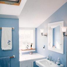 Beach Style Bathroom by Kate S. Warner, Architect