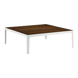 Coalesse - Coalesse   CG_1 Metal Frame Square Coffee Table - Design by Cory Grosser, 2011.