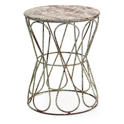 Go Home Ltd - Go Home Ltd Knot Stool X-90711 - Go Home Ltd Knot Stool X-90711