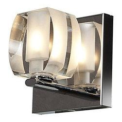 Access Lighting - Evia 1-lt Crystal Vanity - Evia 1-lt Crystal Vanity