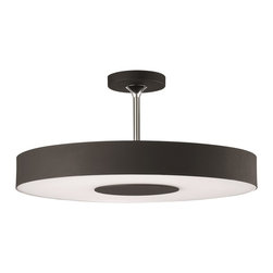 Philips - Philips PH-302063048 Discus Ceiling with Black - Philips PH-302063048 Discus Ceiling with Black