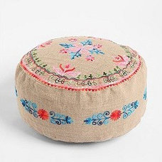 Eclectic Ottomans And Cubes by Urban Outfitters