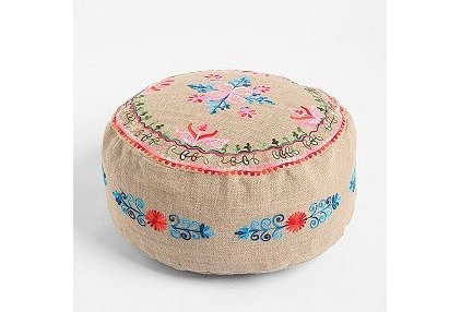 Eclectic Floor Pillows And Poufs by Urban Outfitters