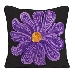 IMAX CORPORATION - Purple Bloom Pillow - Purple Bloom Pillow. Find home furnishings, decor, and accessories from Posh Urban Furnishings. Beautiful, stylish furniture and decor that will brighten your home instantly. Shop modern, traditional, vintage, and world designs.