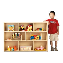 """Young Time - Three Shelf Storage Unit - Features: - Shelf storage unit. -Available in ready to assemble or fully assembled models. -It is for budget-minded buyers seeking to get the most for their classroom furniture dollar. -Features rounded corners, a durable laminate surface, and thermo-fused edge banding, which helps seal out moisture. -All products are safety tested and certified and come with a full, one year guarantee. -Affordable, American-made early learning furniture designed with a focus on the functionality you need most. -Provides the most abundant space for supplies and books. -Assembly Required. . Assembly Instructions -1 year manufacturer's warranty. -Made in the USA. Specifications: -CPSIA and CARB compliant. -Overall dimensions: 32.5"""" H x 48"""" W x 12"""" D."""
