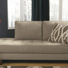 Contemporary Indoor Chaise Lounge Chairs by Overstock.com