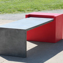 Bench - Two Piece concrete bench