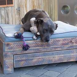 2012 Saint Roch Dog Beds - Box Bed Recycled Wood