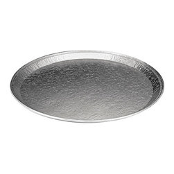 "HANDI-FOIL - C-EMB ALUM CTRWARE SERV TRAY 12IN RND 25 - 25 pieces per case. Embossed.. . . . Flat Trays. 12. . 12"" Size. Round Serving Aluminum Trays & Lids. Dimensions: Height: 1.0475, Length: 1.052, Width: 0.48. Country of Origin: US   CAT: Foodservice Food Containers & Lids Caterware, Aluminum"