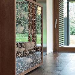 Tonin Casa - Tonin Casa | Granada 4-Door Cabinet - Design by Angelo Tomaiuolo.