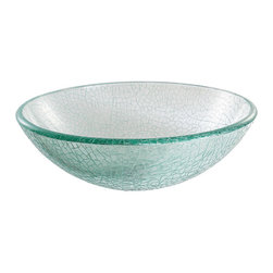 Kraus - Kraus Mosaic Glass Vessel Sink - *Fashionable bathroom sink is the perfect harmony of elegance and style