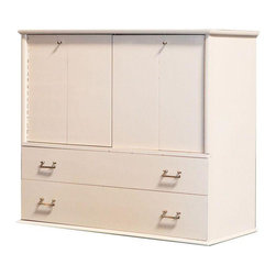 Cream Lacquer Chest of Drawers - $450 Est. Retail - $199 on Chairish.com -