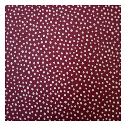 "SheetWorld - SheetWorld Fitted Oval Crib Sheet (Stokke Sleepi) - Burgundy Fun Dots - This luxurious 100% cotton ""woven"" oval crib (stokke sleepi) sheet features a burgundy fun dots print. Our sheets are made of the highest quality fabric that's measured at a 280 tc. That means these sheets are soft and durable. Sheets are made with deep pockets and are elasticized around the entire edge which prevents it from slipping off the mattress, thereby keeping your baby safe. These sheets are so durable that they will last all through your baby's growing years. We're called sheetworld because we produce the highest grade sheets on the market today. Size: 26 x 47."