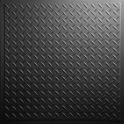Diamond Plate Ceiling Tiles -