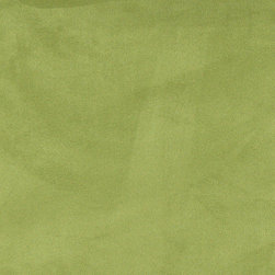 Lime Green Microsuede Suede Upholstery Fabric By The Yard - Our microsuede upholstery fabric will look great on any piece of furniture. This material is easy to clean and is very durable.