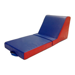 ECR4KIDS - ECR4KIDS Softzone 2-Piece Carry Me Chaise Lounge Multicolor - ELR-12647 - Shop for Gyms and Play Mats from Hayneedle.com! Kids can chill out in chaise lounge style with the ECR4KIDS Softzone 2-Piece Carry Me Chaise Lounge a versatile and super-comfy seat for naptime reading video gaming and more. This two-piece seat is designed for easy portability and storage with a foldable two-piece design and secure carrying handle.About Early Childhood ResourcesEarly Childhood Resources is a wholesale manufacturer of early childhood and educational products. It is committed to developing and distributing only the highest-quality products ensuring that these products represent the maximum value in the marketplace. Combining its responsibility to the community and its desire to be environmentally conscious Early Childhood Resources has eliminated almost all of its cardboard waste by implementing commercial Cardboard Shredding equipment in its facilities. You can be assured of maximum value with Early Childhood Resources.