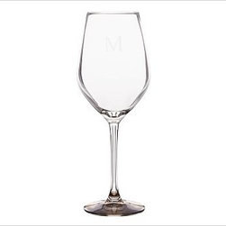 """Caroline Red Wine Glass, Set of 6, Silver - Toast the festivities with our elegant glassware, part of our new Caroline Registry Gift Collection. Master glassblowers in Poland create our delicate yet durable pieces, notable for their gold and silver bases. We've wrapped them in a beautiful gift box so they're ready to present on that special occasion. White Wine: 3"""" diameter, 9.5"""" high; 6 fluid ounces Red Wine: 3.5"""" diameter, 9.5"""" high; 10 fluid ounces Flute: 3"""" diameter, 10"""" high; 7 fluid ounces Made of blown glass. Set of 6. Hand wash. Monogramming is available at an additional charge. Gold is Catalog / Internet only. Packaged in a beautiful PB storage box. Made in Poland. Read more on our blog about the inspiration behind this product."""