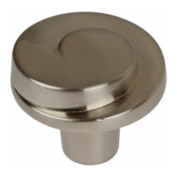 "GlideRite Hardware - GlideRite 1-5/32"" Swirl Cabinet Knob Satin Nickel - Add a stylish look to your cabinets with this round swirl satin nickel knob.  Each knob is individually packaged to prevent damage to the finish and a standard installation screw is included."