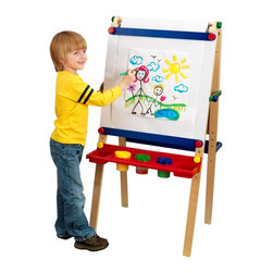 KidKraft - Artist Easel With Paper by Kidkraft - Give this to any young artist and they'll be thanking you as they get hard to work on their next masterpiece.