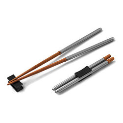 Compact Chopsticks - Did you know Japanese people often carry their own set of chopsticks around? I like the idea and this compact set is easy to slip into a lunch bag.