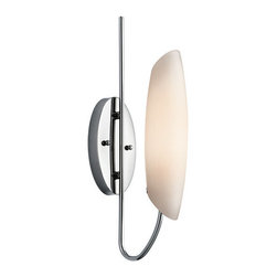 Kichler - Kichler 45212CH Modern Single Light Wall Sconce from the Stella Collection - Kichler 45212 Stella Wall Sconce