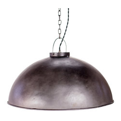 Pendant Barn Lights - Time for a new kind of barn raising. This simple stunner is a pendant barn light crafted from industrial aged iron. Wherever you hang it, it's sure to rule the roost in your crib.