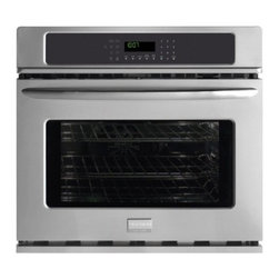 """Frigidaire - Gallery Series FGEW3045KF 30"""" Single Electric Wall Oven With 4.2 Cu. Ft. True Co - The FGEW3045K Electric wall oven from Frigidaire has all the best features you look for cooking perfection It has Quick Preheat which allows you to preheat in less than 6 minutes chicken nugget button for baking chicken nuggets in the perfect way tru..."""
