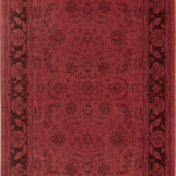 """Karastan - Karastan Esperanza 621-90052 (Bayberry) 8'8"""" x 10' Rug - Classic Karastan Axminster designs bathed in rich pigmented dyes in vibrant shades of orange, apple green, sea blue and amethyst create a modern twist on timeless patterns. The Esperanza collection of rugs are made of durable and renewable New Zealand wool, woven in the U.S., and are able to withstand the most challenging demands of today's lifestyles."""