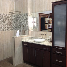 Contemporary Showers by ProSource Wholesale