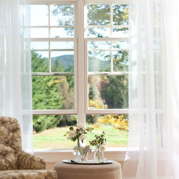 Country Curtains Sheer Panels - Fine voile . . . filters and softens sunlight! Gain privacy without blocking all the light with these stylish panels that are lovely alone and work beautifully under other curtains, too.