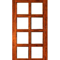 "Rustic-10-lite-P/B Interior Solid 1 Panel IG Glass Single Door - SKU#    Rustic-10-lite-P/B-1Brand    AAWDoor Type    InteriorManufacturer Collection    Interior French DoorsDoor Model    Door Material    WoodWoodgrain    Tropical HardwoodVeneer    Price    410Door Size Options    14"" x 96"" (1'-2"" x 8'-0"")  $018"" x 96"" (1'-6"" x 8'-0"")  $024"" x 96"" (2'-0"" x 8'-0"")  +$13030"" x 96"" (2'-6"" x 8'-0"")  +$14032"" x 96"" (2'-8"" x 8'-0"")  +$14036"" x 96"" (3'-0"" x 8'-0"")  +$140Core Type    SolidDoor Style    Door Lite Style    3/4 Lite , 10 LiteDoor Panel Style    1 PanelHome Style Matching    Mediterranean , LogDoor Construction    Engineered Stiles and RailsPrehanging Options    Prehung , SlabPrehung Configuration    Single DoorDoor Thickness (Inches)    1.75Glass Thickness (Inches)    1/2Glass Type    Double GlazedGlass Caming    Glass Features    Insulated , Tempered , low-E , Beveled , DualGlass Style    Clear , White LaminatedGlass Texture    Clear , White LaminatedGlass Obscurity    No Obscurity , High ObscurityDoor Features    Door Approvals    FSCDoor Finishes    Door Accessories    Weight (lbs)    340Crating Size    25"" (w)x 108"" (l)x 52"" (h)Lead Time    Slab Doors: 7 daysPrehung:14 daysPrefinished, PreHung:21 daysWarranty    1 Year Limited Manufacturer WarrantyHere you can download warranty PDF document."