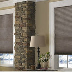 Cellular Shades- 3 Day Blinds- Living Room - Cellular Shades look airy and light but are actually extremely energy efficient. Also referred to as Honeycomb Blinds, because of their hexagon/ honeycomb shape they provide insulation between your window.