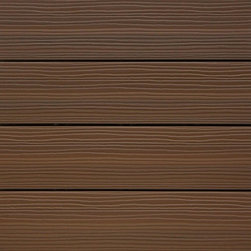 "Kontiki - Kontiki Interlocking Deck Tiles - Composite QuickDeck Series - [10.0 pieces/box] - Ipe / 12""x12""x1"" -    The striking and multi-tonal nature of real wood in an easily installed composite deck tile is yours in this series on the Kontiki label. This is your way to transform a drab outdoor living surface or a transitioning indoor one in a matter of hours, and do it yourself. For patios, balconies and beyond, creating a stylish space is as easy as can be.    Each composite deck tile is the product of post-consumer and post-industrial manufacturing innovation. The colors and grain patterns are realistic, and are also made to resist the most common types of wear to which any outdoor surface is exposed; fading, scratching, and staining. These are practical outdoor living space surfaces that do not off-gas, do not leech, and are designed to look great for the long-term.     Stylish composite deck tiles you can install yourself _ easily    Making the transition between ��_before��_ and ��_after��_ is very easily done with this series of composite deck tiles. Simply snap them together using a 4-way interlocking system over a stable and flat surface; no special tools, no fuss, right out of the box. When you're done, you'll have a low-maintenance surface that's designed to look great for a long time.    The locking system is raised to allow for maximum drainage during inclement weather, which is one of the keys to their enduring performance. And if you ever decide to re-locate your tiles, that's easy too; it's as easy as installing them. This adds another yet level of re-use and long-lasting surfaces.    Composite deck tiles at best prices    BuildDirect is excited to work with our manufacturing partners who have developed this series of sustainability-minded, highly practical, low-maintenance, and great looking composite deck tiles. Like you, we look for the highest quality in innovative products like this. And we're able to deliver them in innovative ways in order to deliver the greatest p"