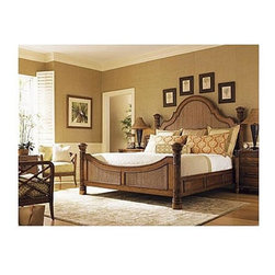 Tommy Bahama Island Estate Round Hill King Bed -