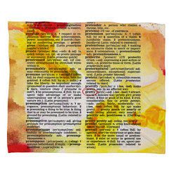 DENY Designs - Susanne Kasielke Pretty Dictionary Art Fleece Throw Blanket - This DENY fleece throw blanket may be the softest blanket ever! And we're not being overly dramatic here. In addition to being incredibly snuggly with it's plush fleece material, it's maching washable with no image fading. Plus, it comes in three different sizes: 80x60 (big enough for two), 60x50 (the fan favorite) and the 40x30. With all of these great features, we've found the perfect fleece blanket and an original gift! Full color front with white back. Custom printed in the USA for every order.