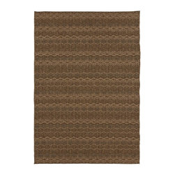 Home Decorators Collection - Farley Area Rug - Our Farley Area Rug features a tight, power-loomed zigzag pattern. This flat-pile rug from our Patio Collection offers the look and texture of natural fibers with all-weather durability. The contemporary style of this outdoor carpet will add organic appeal to your deck, porch or patio. 100% Olefin. Machine made. Flat pile. Can be used indoors or out. Easy to clean; simply spray with a hose. Made in Turkey.