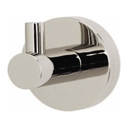 Alno Inc. - Alno Creations Contemporary I Robe Hook Polished Nickel A8380-Pn - Alno Creations Contemporary I Robe Hook Polished Nickel A8380-Pn