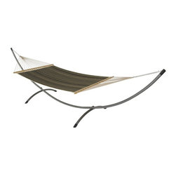 Phat Tommy - Quilted Hammock in Onyx - Includes two chains and two tree 0.38 in. steel hooks