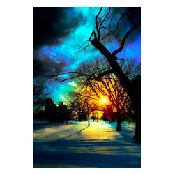 After The Storm Photograph - Photograph with digital painting. Available on metal in editions of 200. The next available edition number will be shipped.